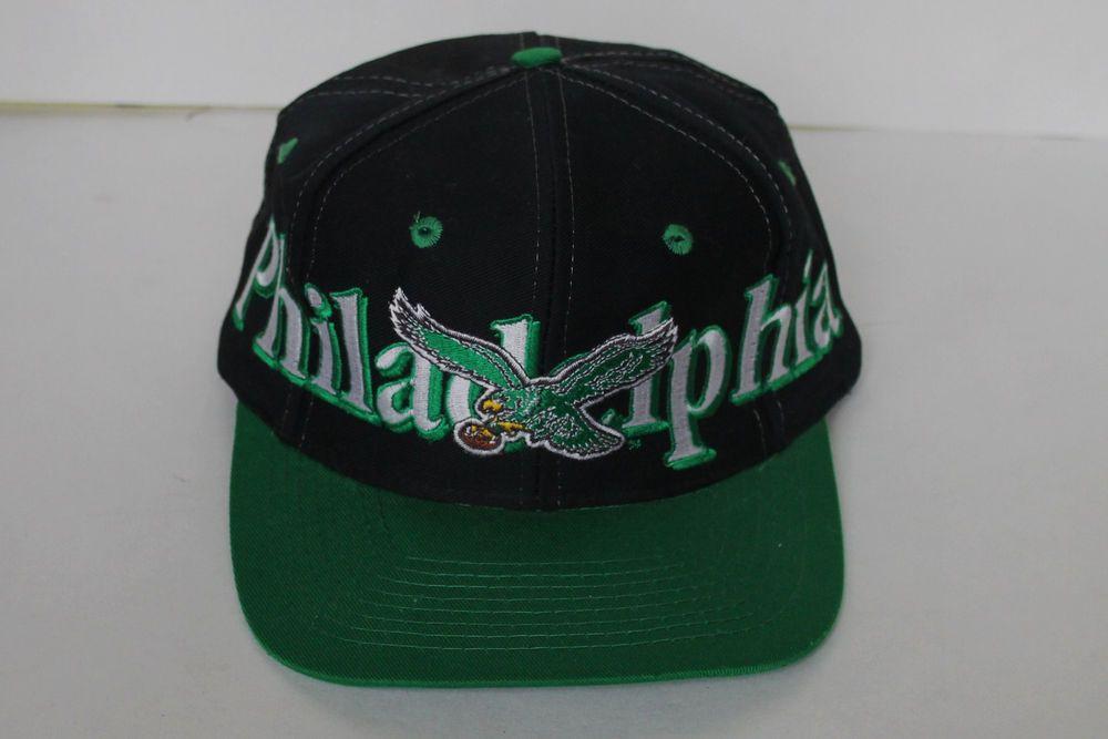 34d826b498237 Vintage Philadelphia Eagles Team NFL Snapback Baseball Cap Hat One Size by  Logo7  Logo7  PhiladelphiaEagles  Vintage  Snapback  Hat
