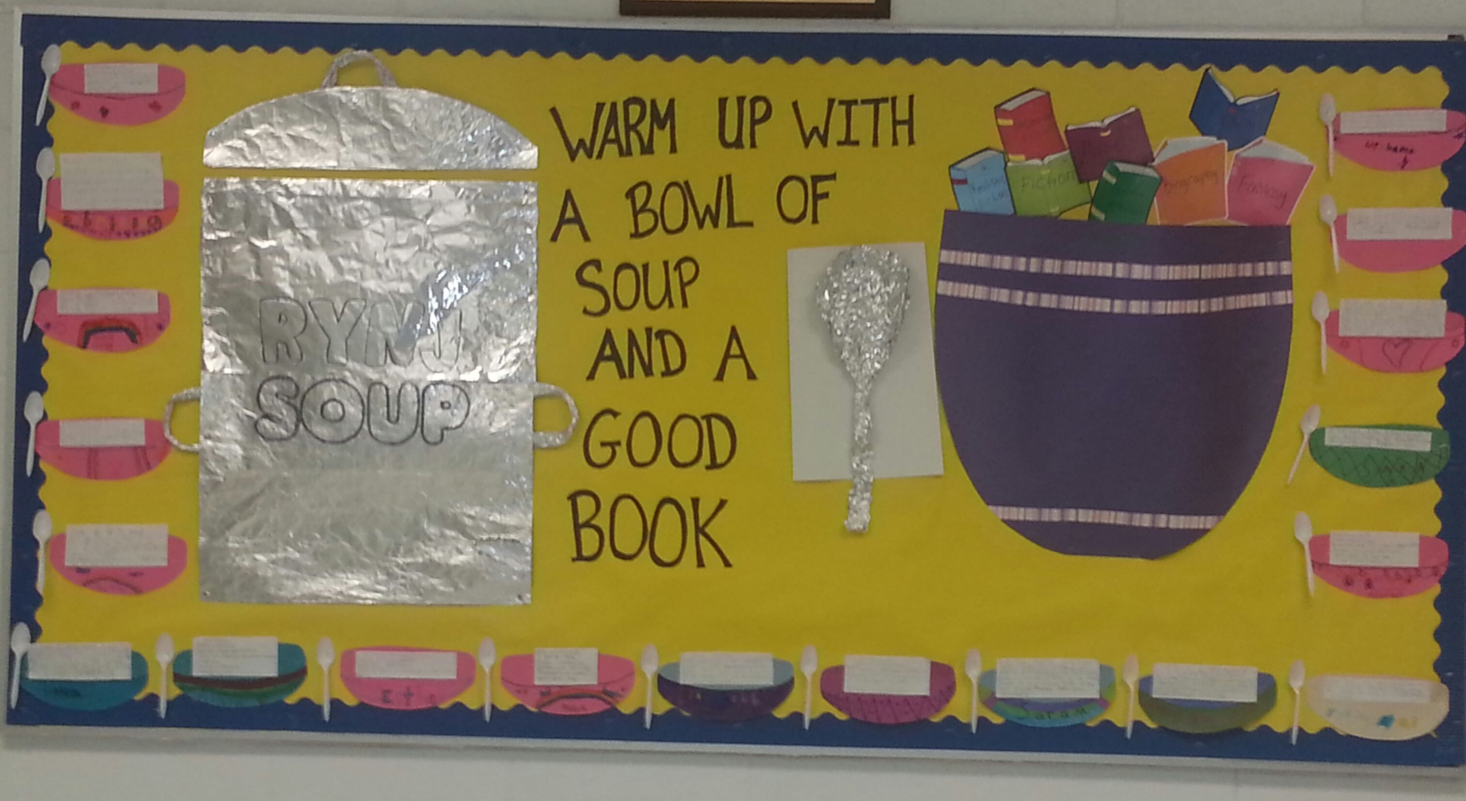 Warm Up With A Bowl Of Soup And A Good Book