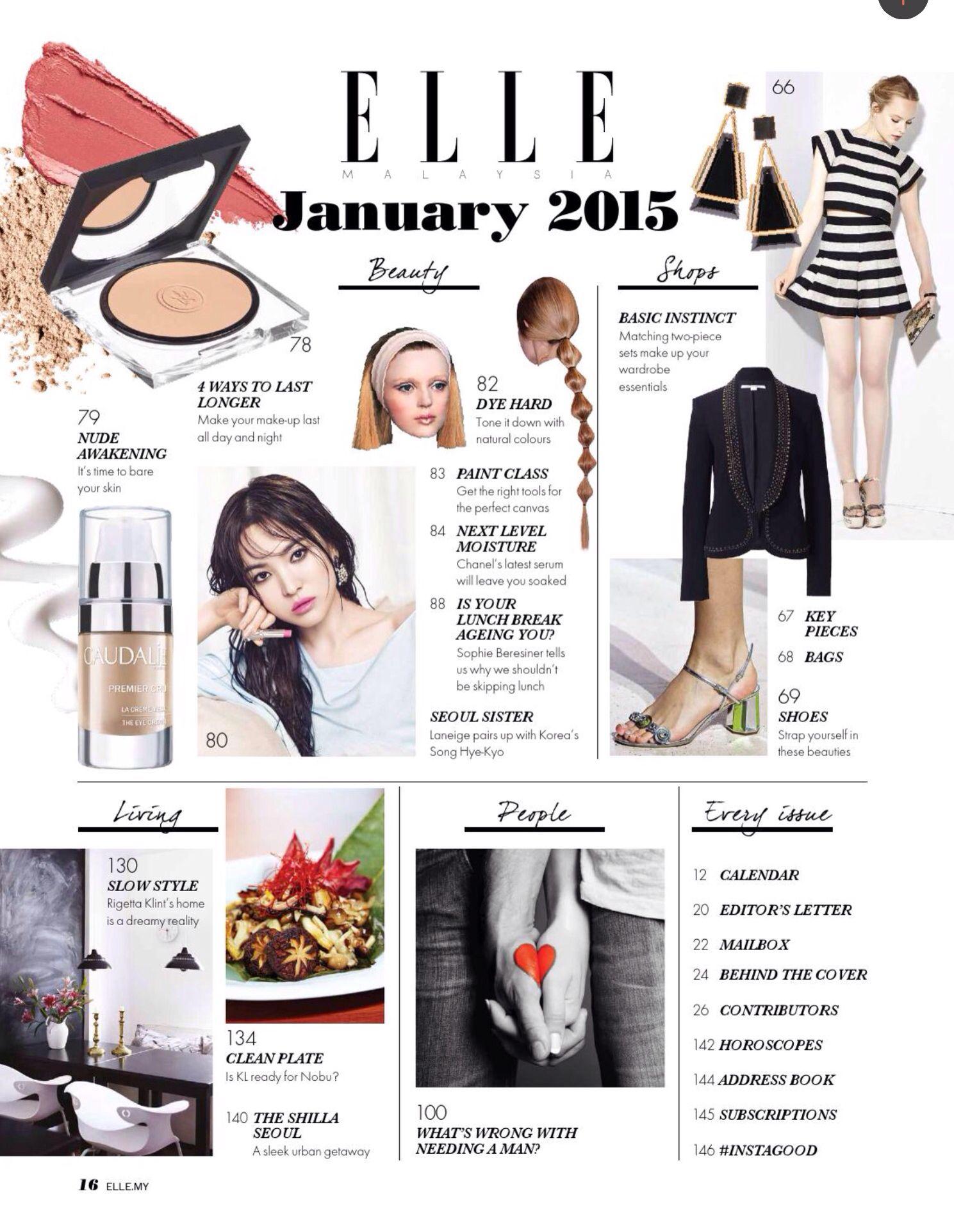 Elle Malaysia | magazine layout | Pinterest | Malaysia ...
