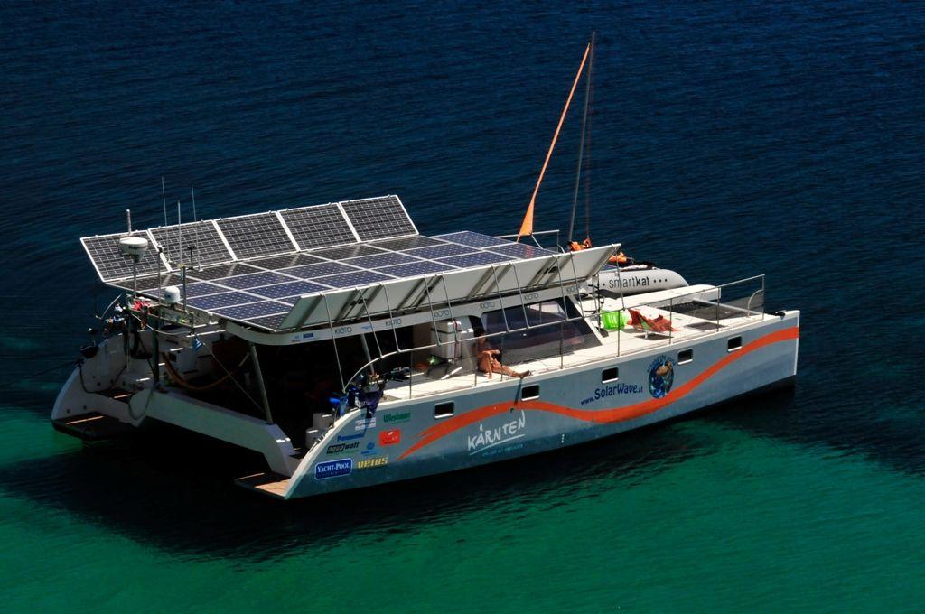 Image result for solar powered catamaran | Yacht design ...