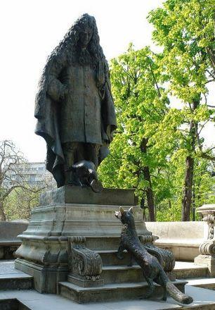 statue de La Fontaine. jardin du Ranelagh - Paris 16e | boite déco ...