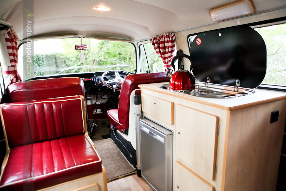 Camper van interiors vwcampervancbaywindowccvw