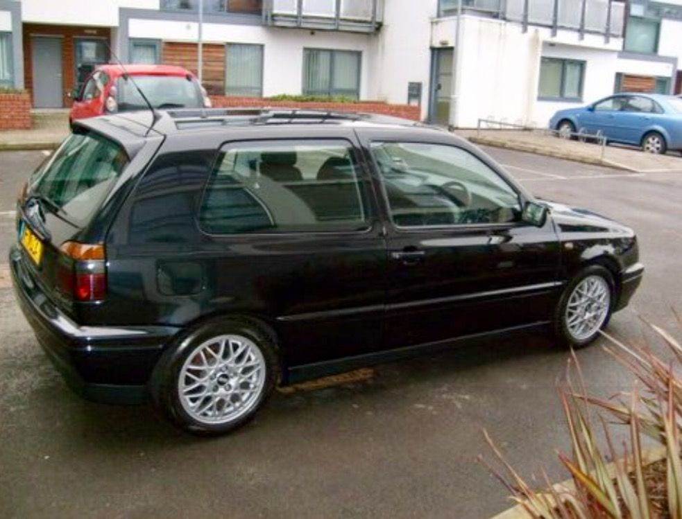 1996 Black Vw Golf Vr6 Mk3 Vw Golf Vr6 Golf Mk3 Golf