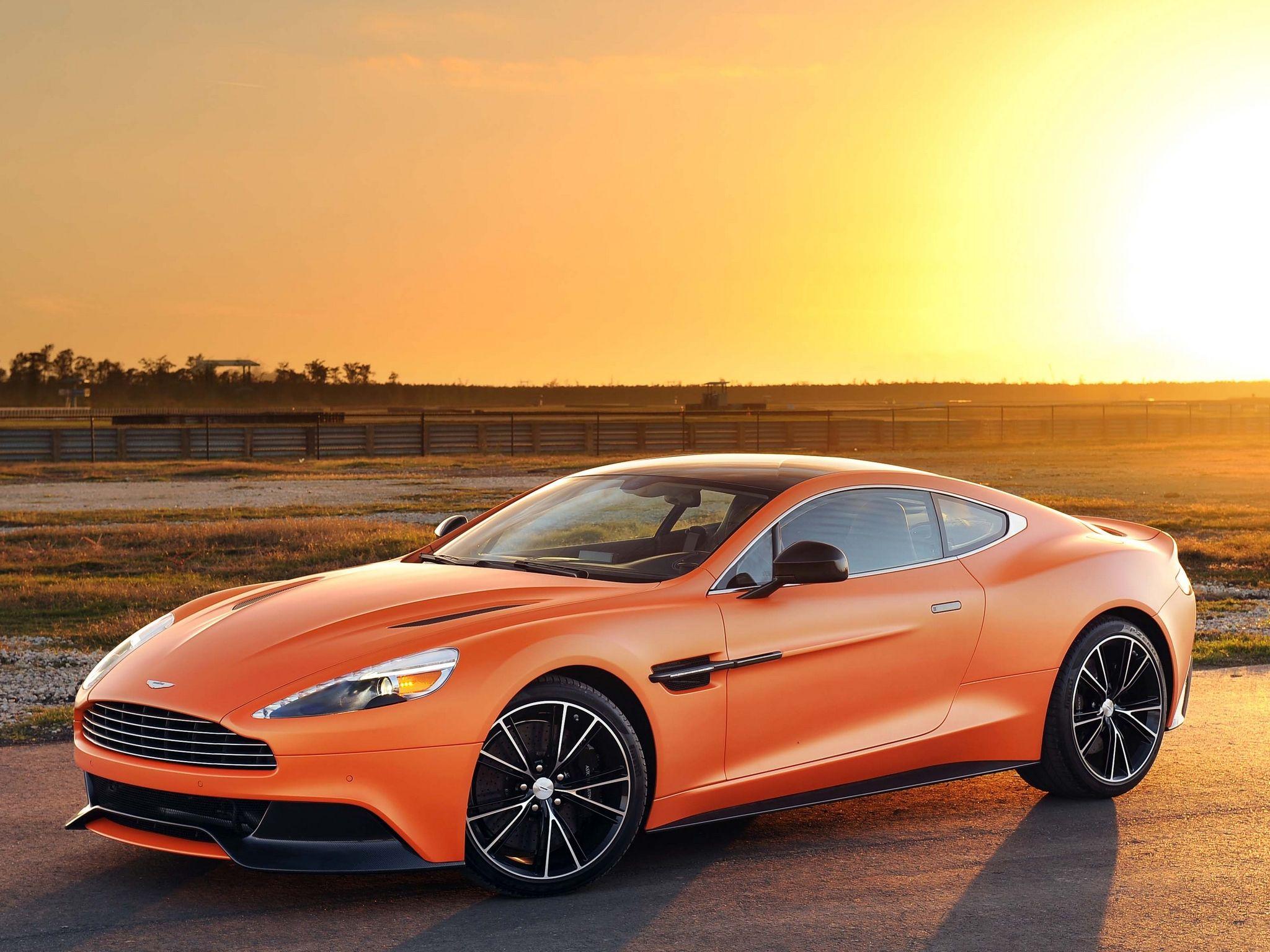 2014 Aston Martin Vanquish In Tangerine Cars