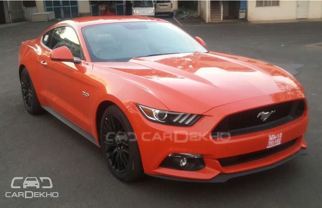 Exclusive Ford Mustang Gt 5 0l V8 Spotted At Arai Launching Soon