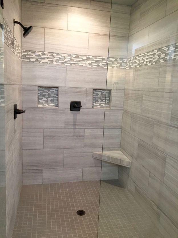 48 Classy And Modern Bathroom Shower Tile Ideas Patterned Bathroom Tiles Bathrooms Remodel Luxury Bathroom Tiles