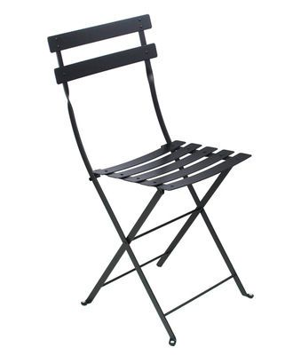 Chaise pliante Bistro / Métal Réglisse - Fermob