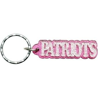 Official New England Patriots ProShop - Patriots Glitter Freeform Keychain