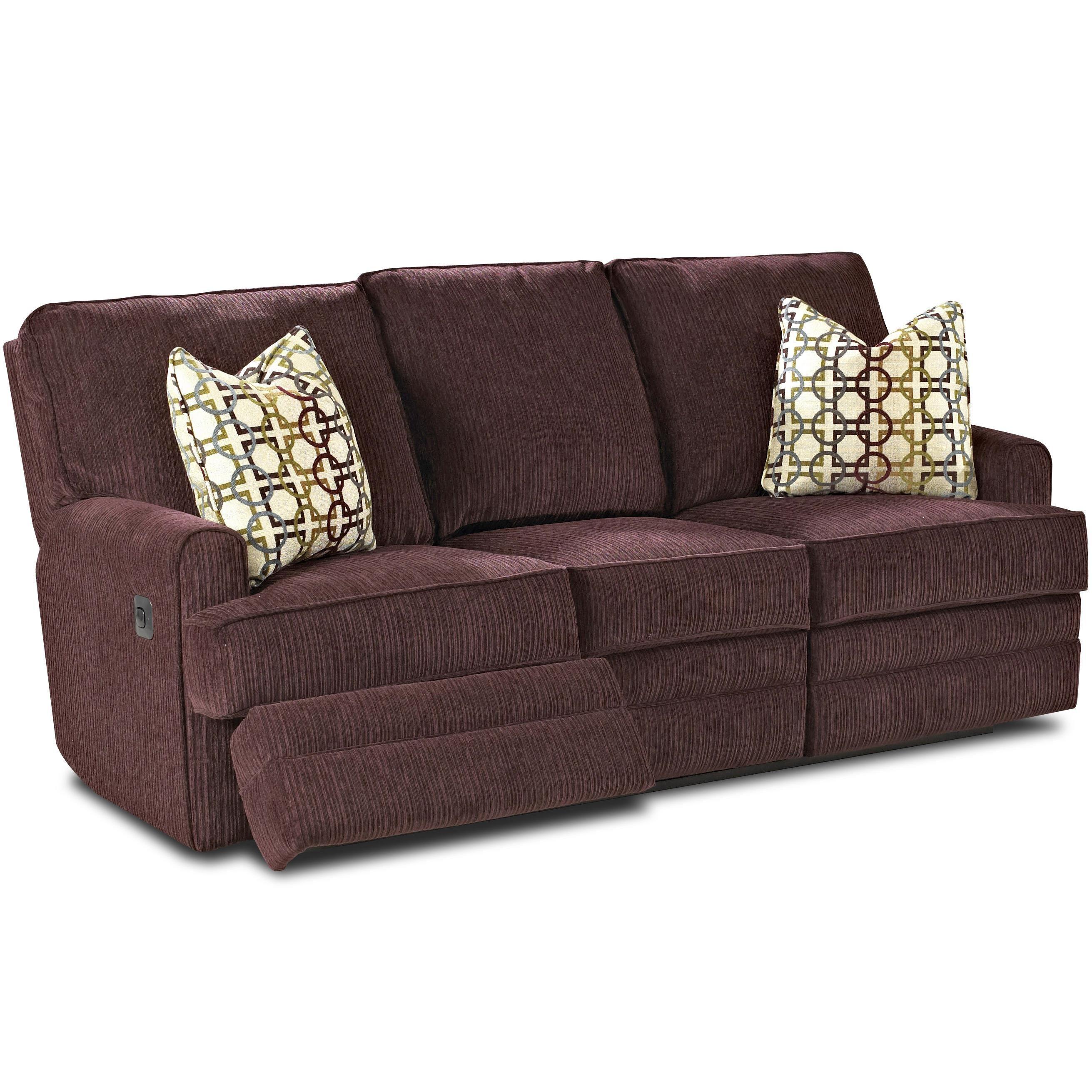 Casual Power Reclining Sofa Power reclining sofa