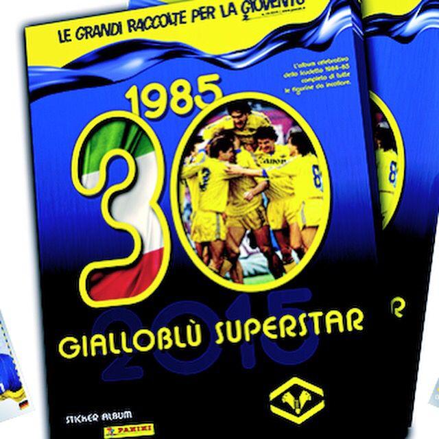 #collezione #completa #ufficiale #esclusiva #figurine #panini #scudetto #hellasverona #1985  #official #exclusive #sticker #collection #complete #set