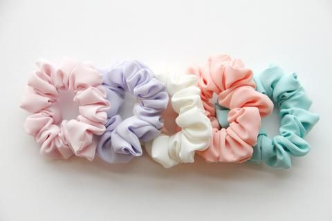 Hair Scrunchie - Spring Pastel Series *Lavender*