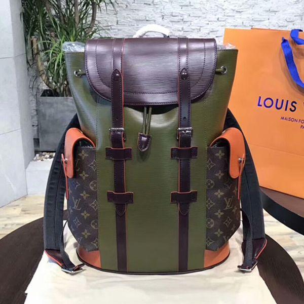 46365407c72d Louis Vuitton M53425 Christopher PM Backpack Epi Leather