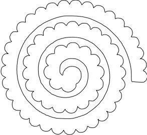 Moldes Para Hacer Flores De Fieltro Ideas De Manualidades Fabrica - Plantillas-para-hacer-flores-de-goma-eva