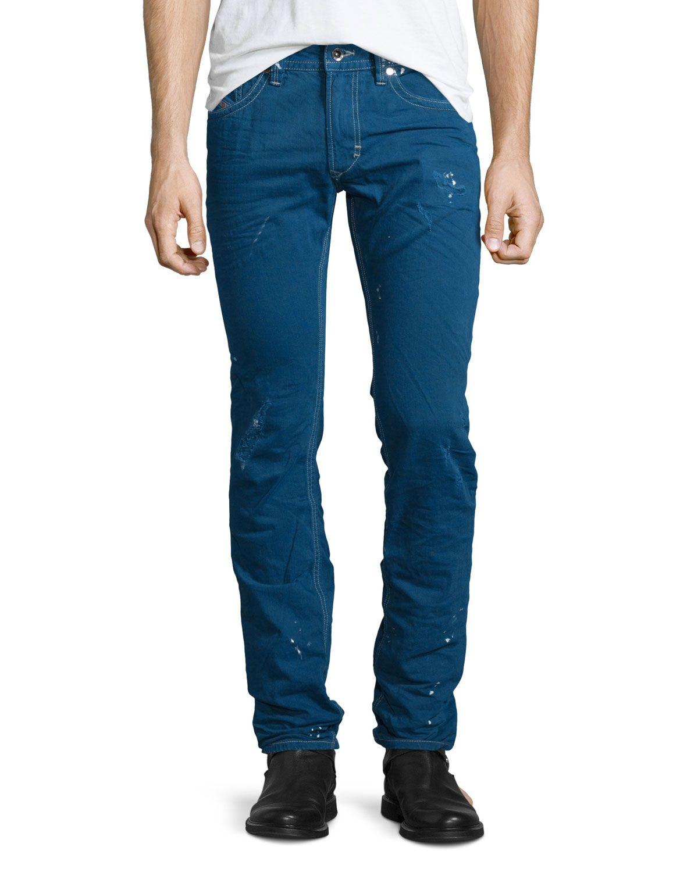 1d8053199e6 Thavar Distressed Denim Jeans