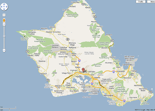 Road Map Oahu Honolulu Hawaii Aaccessmaps Oahu Pinterest Oahu