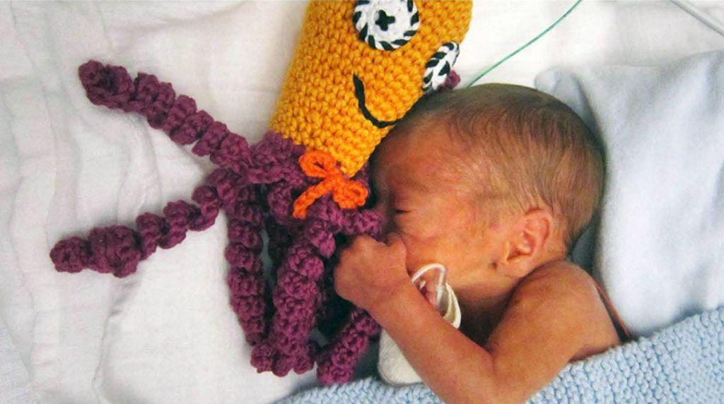 Inktvisje Baby Kind Haken Prematuurtjes En Breien