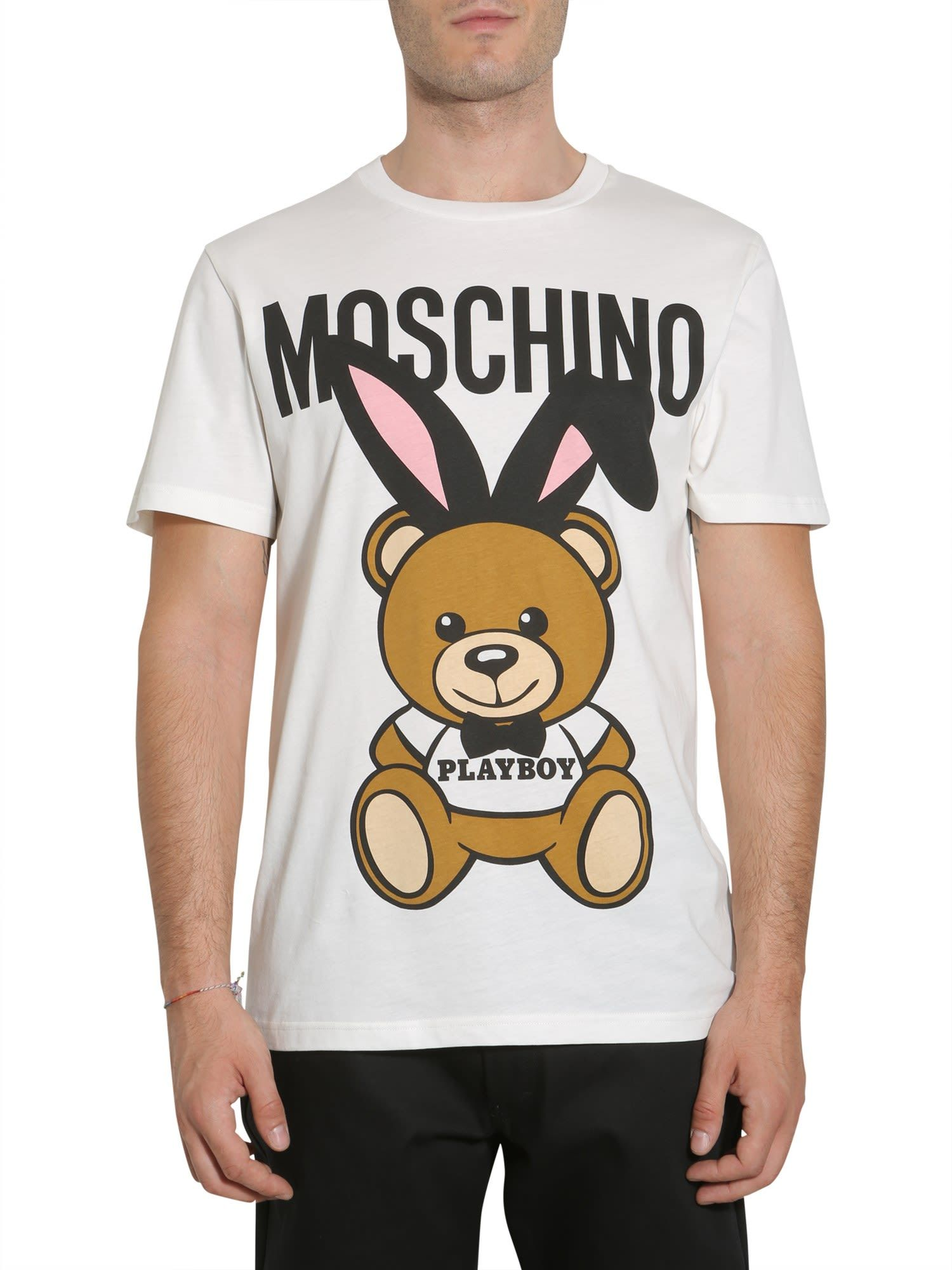 066aa15a86f MOSCHINO PLAYBOY TEDDY BEAR T-SHIRT.  moschino  cloth