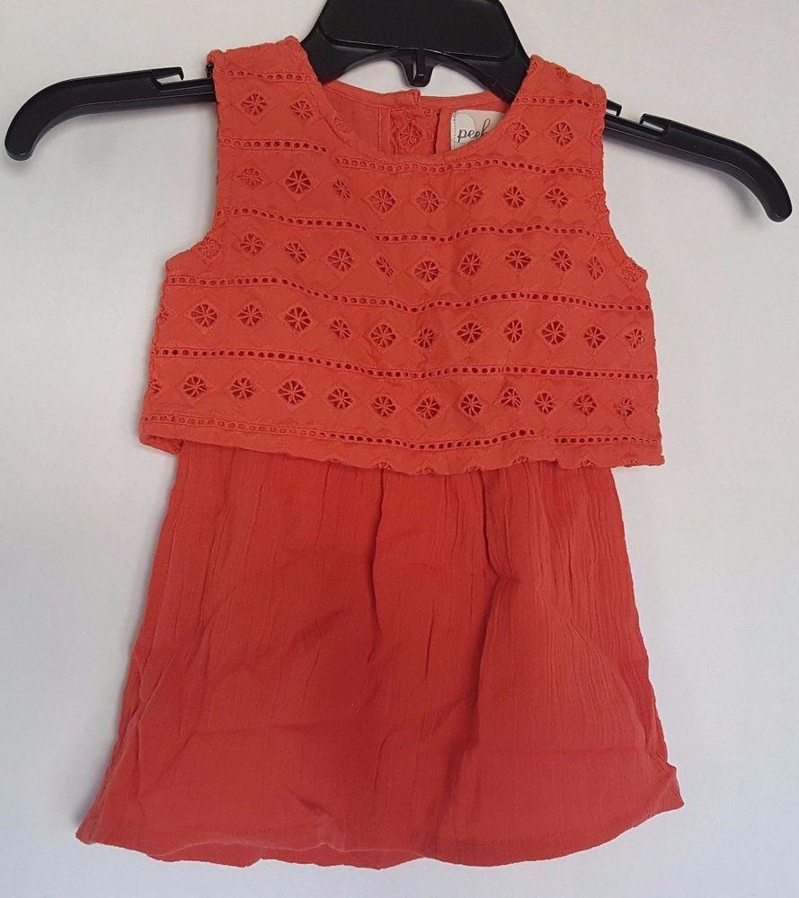 Peek Girls Baby Poppy Dress Size XL (18-24 months) #Peek | Roxies ...