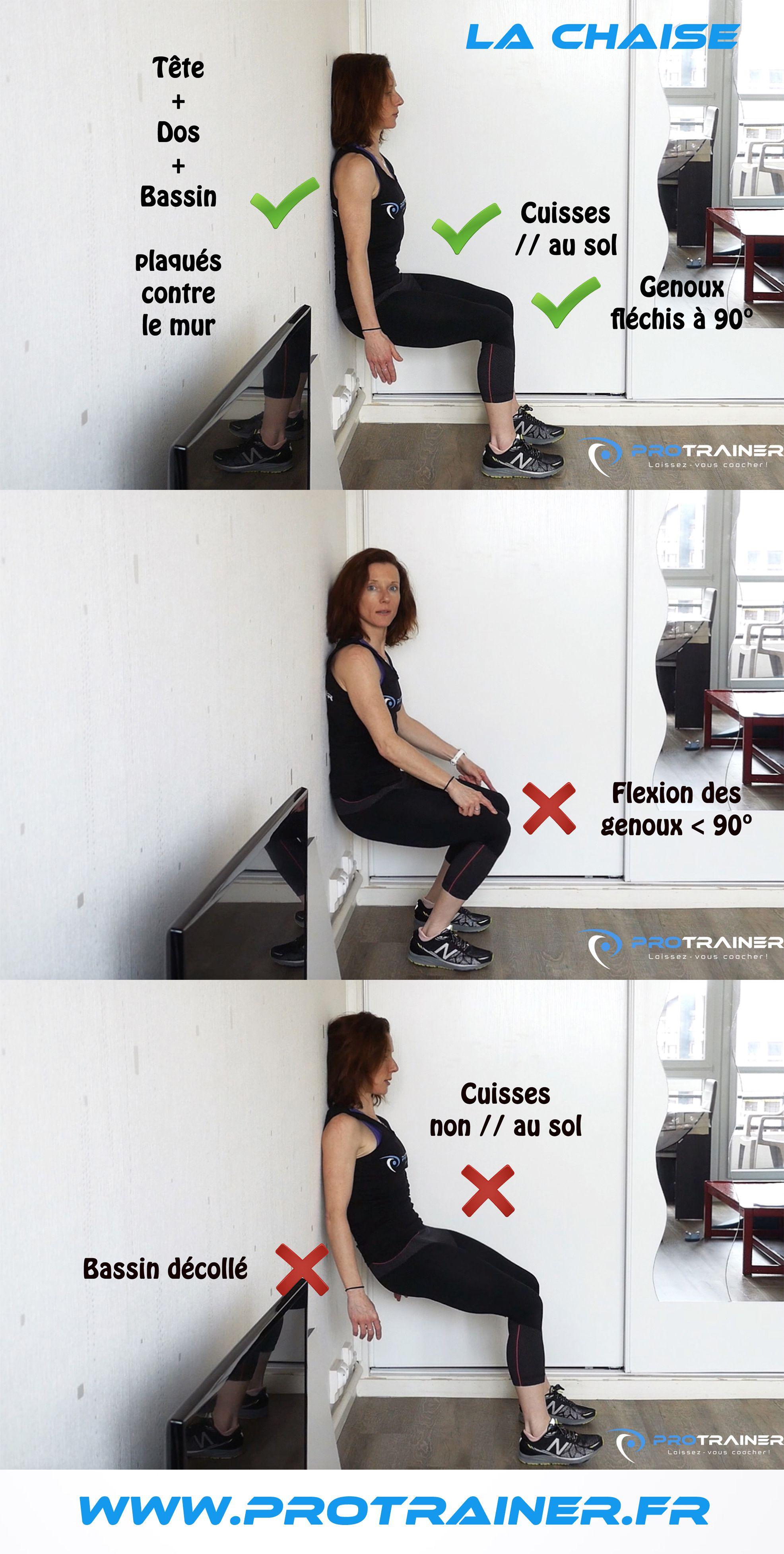 La Chaise Ce Qu Il Faut Faire Et Ne Pas Faire En 2020 Cuisse Musculation Muscle
