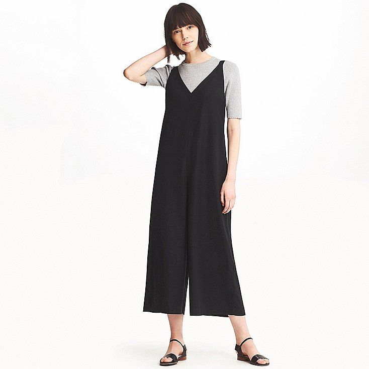 da410739869f Women linen rayon sleeveless jumpsuit
