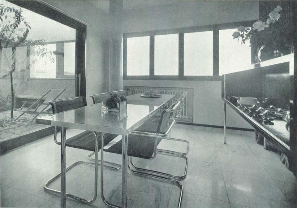 L 39 abitazione di un architetto negli anni 39 30 architetti for Case realizzate da architetti
