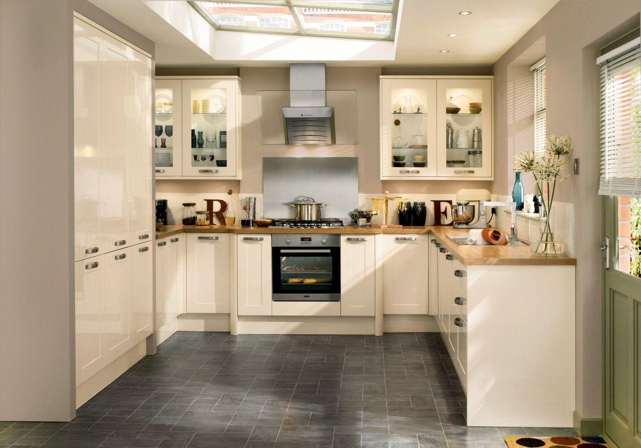 toute notre gamme de cuisines de couleur cr me id es d coration maison pinterest. Black Bedroom Furniture Sets. Home Design Ideas