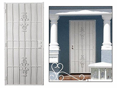 Columbia Belvedere White 36 X 96 Security Door Cr Laurence Http Www Amazon Com Dp B008xjbbm6 Ref Cm Sw R Pi Dp Cuen Security Door Belvedere Projects To Try