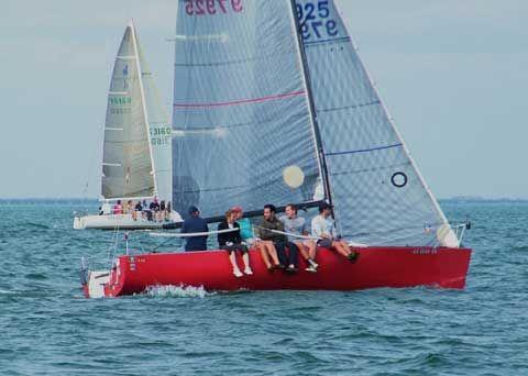 Red B 25 Texas Hull 21 Built 1991 B 25 S Sailboats For
