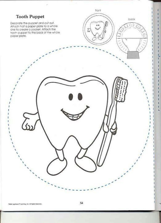 tooth puppet etkinlik salud bucal salud dental ve imagenes dientes. Black Bedroom Furniture Sets. Home Design Ideas