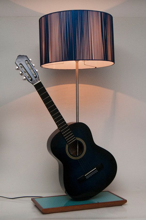 Acoustic guitar lamp by storesws on etsy i like it pinterest acoustic guitar lamp by storesws on etsy aloadofball Images