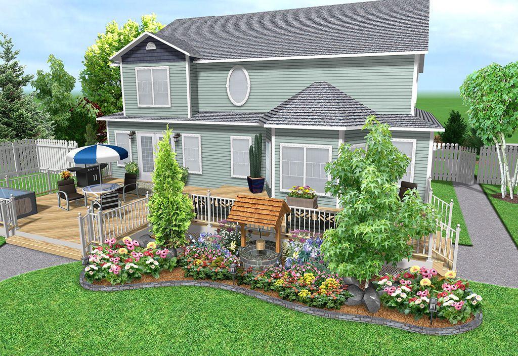 Landscape Design Software Features Realtime Landscaping Plus Landscape Design Software Landscape Design Backyard Design