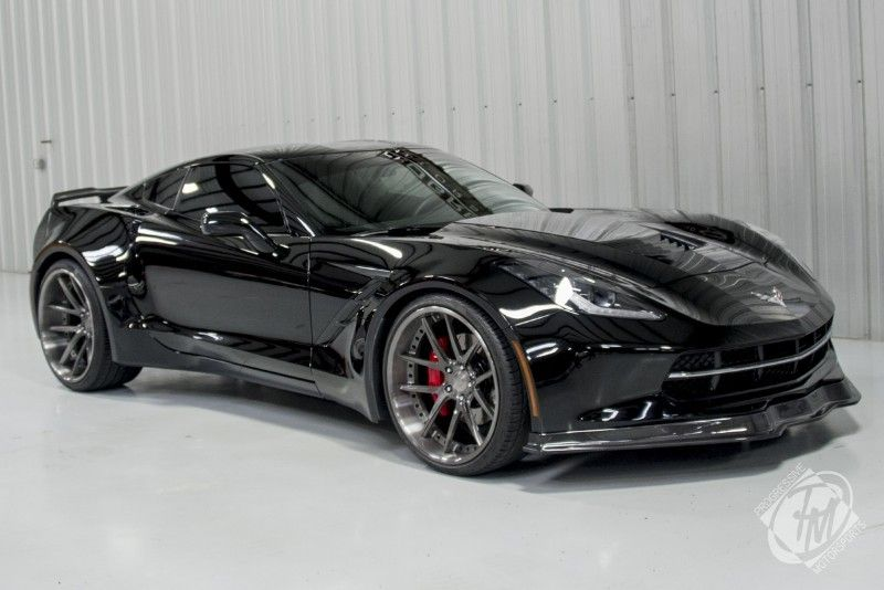 Unique Widebody Black C7 Corvette Stingray I M Not A Chevy Guy But This Is Nasty