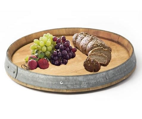 Large Lazy Susan Custom Authentic #wine Barrel Lazy Susan  Tabletop & #barware  Buyer At Inspiration Design