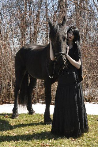 Emo Horse Girl