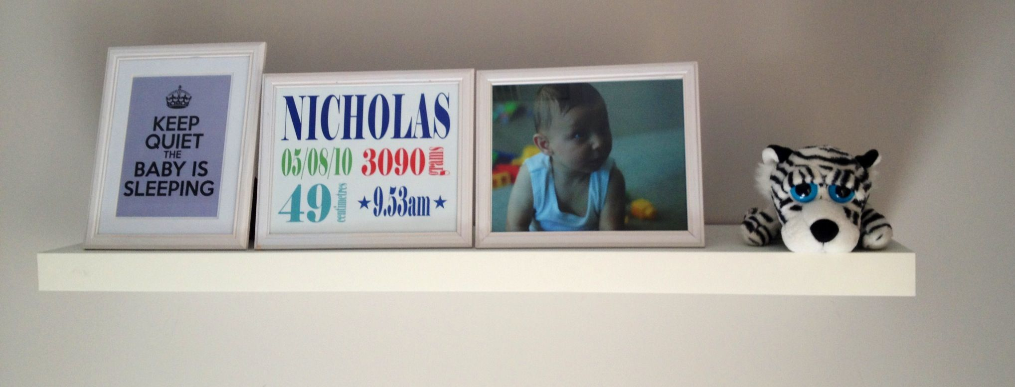 Baby bedroom shelf - Nicholas