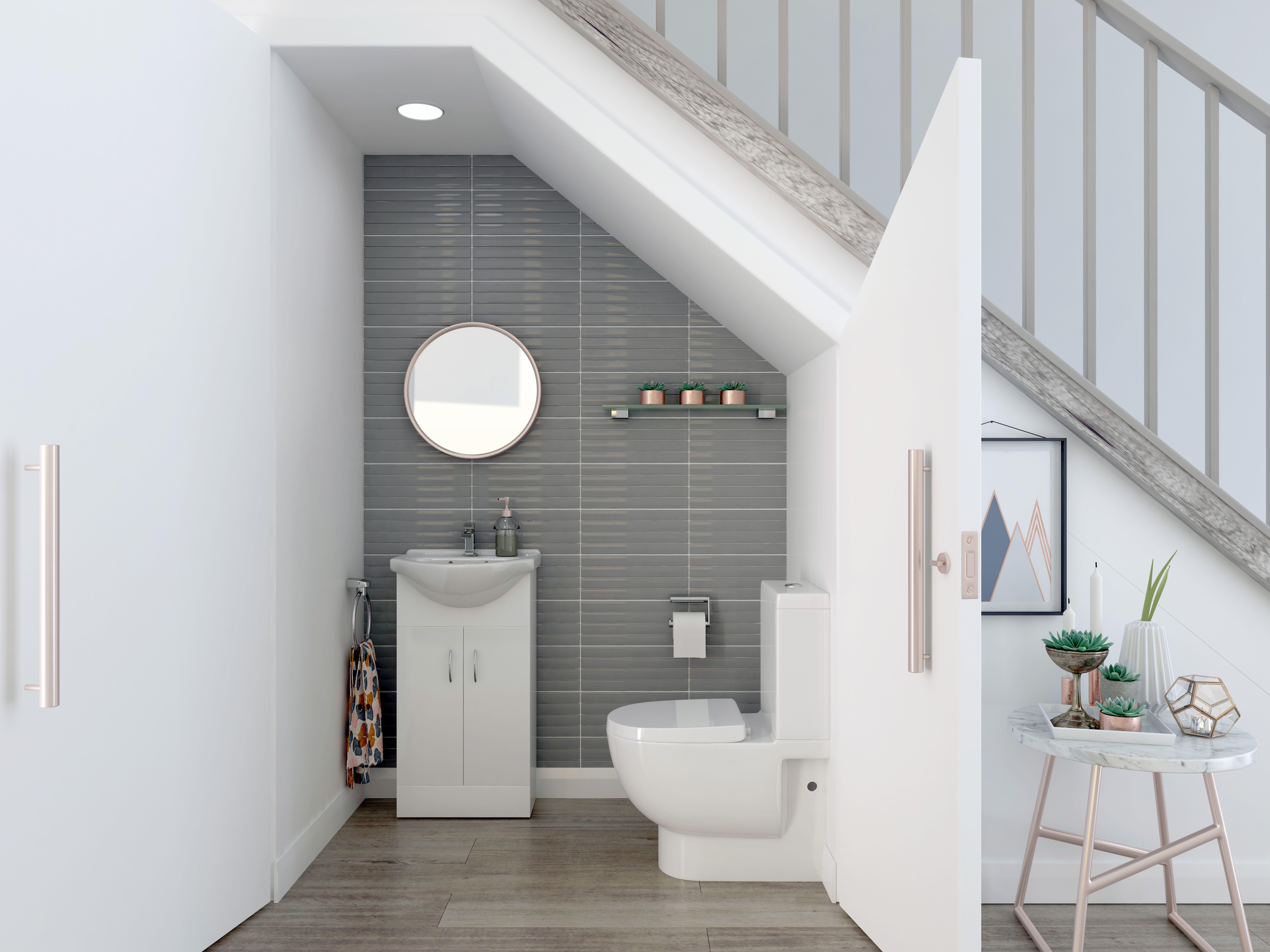 Lighting Basement Washroom Stairs: Inspiration From Bathrooms.com: Buy This Amazing Vanity 2