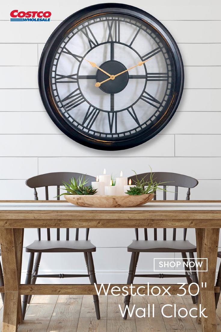 Westclox 30 Wall Clock In 2020 Wall Clock Clock Home Furnishings