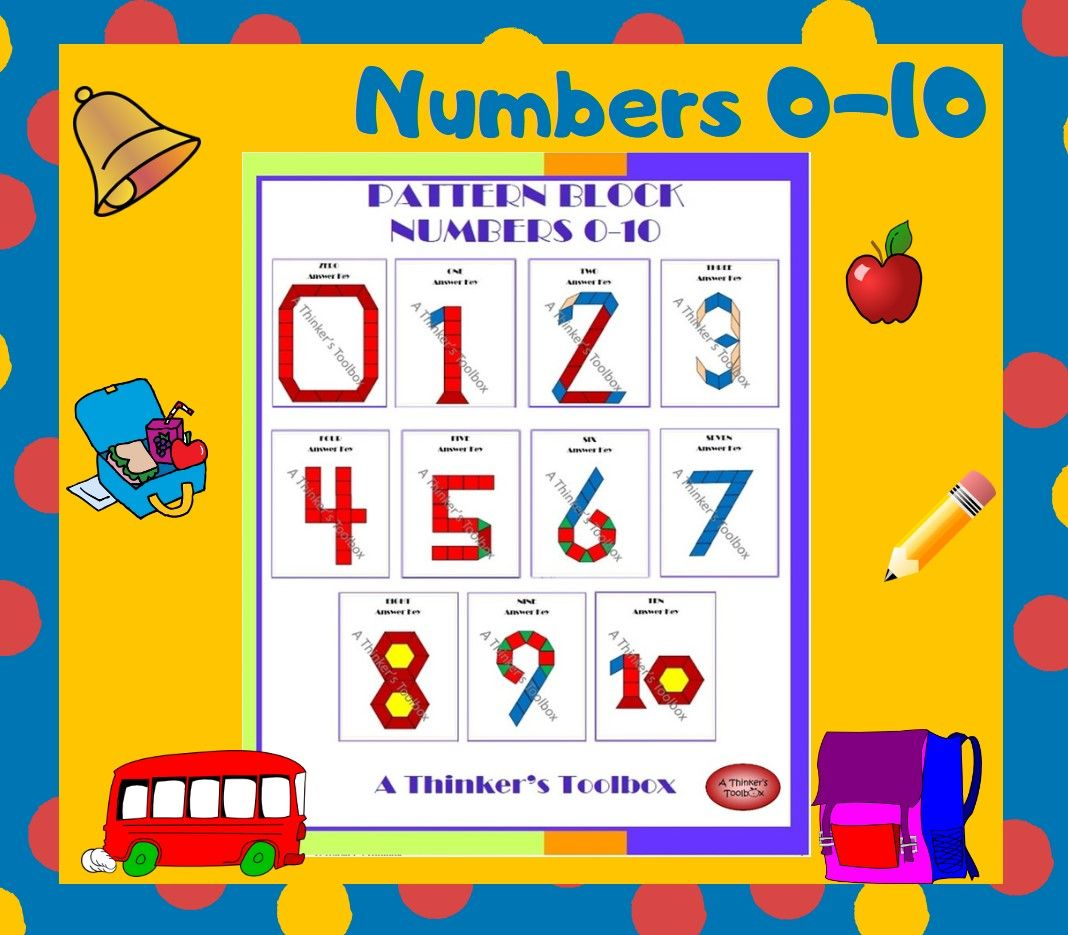 Numbers 0 20 Pattern Block Puzzles Worksheets 112 Pages Kindergarten Math Activities Pattern Blocks Challenging Puzzles [ 935 x 1068 Pixel ]