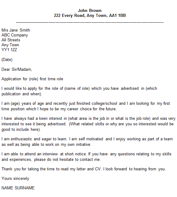 Pics Photos Sample Cover Letter For Job Examples Jobs Guidecover