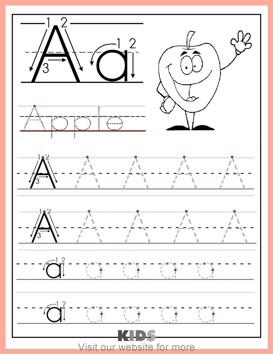 Printable Kids Chore Chart In