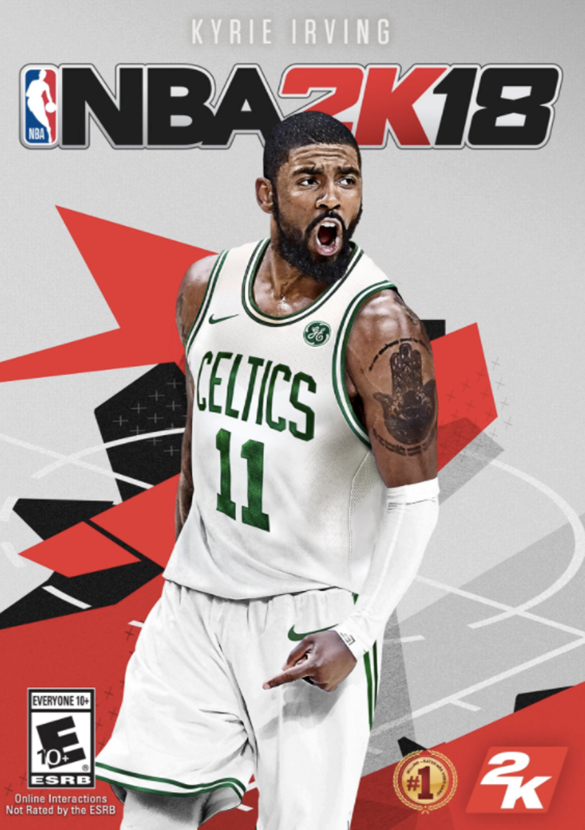Nba 2k18 Is Available Now Kyrie Irving Nba Nba Video Games
