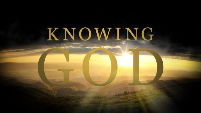 Knowing God is so much more than any activity of the mind. No matter what is going on in our lives, we always need to turn to God, trusting in Him will draw us closer to Him and He will make us stronger. He will get us through for He drells in our hearts through faith.  We can not do it alone, but with....