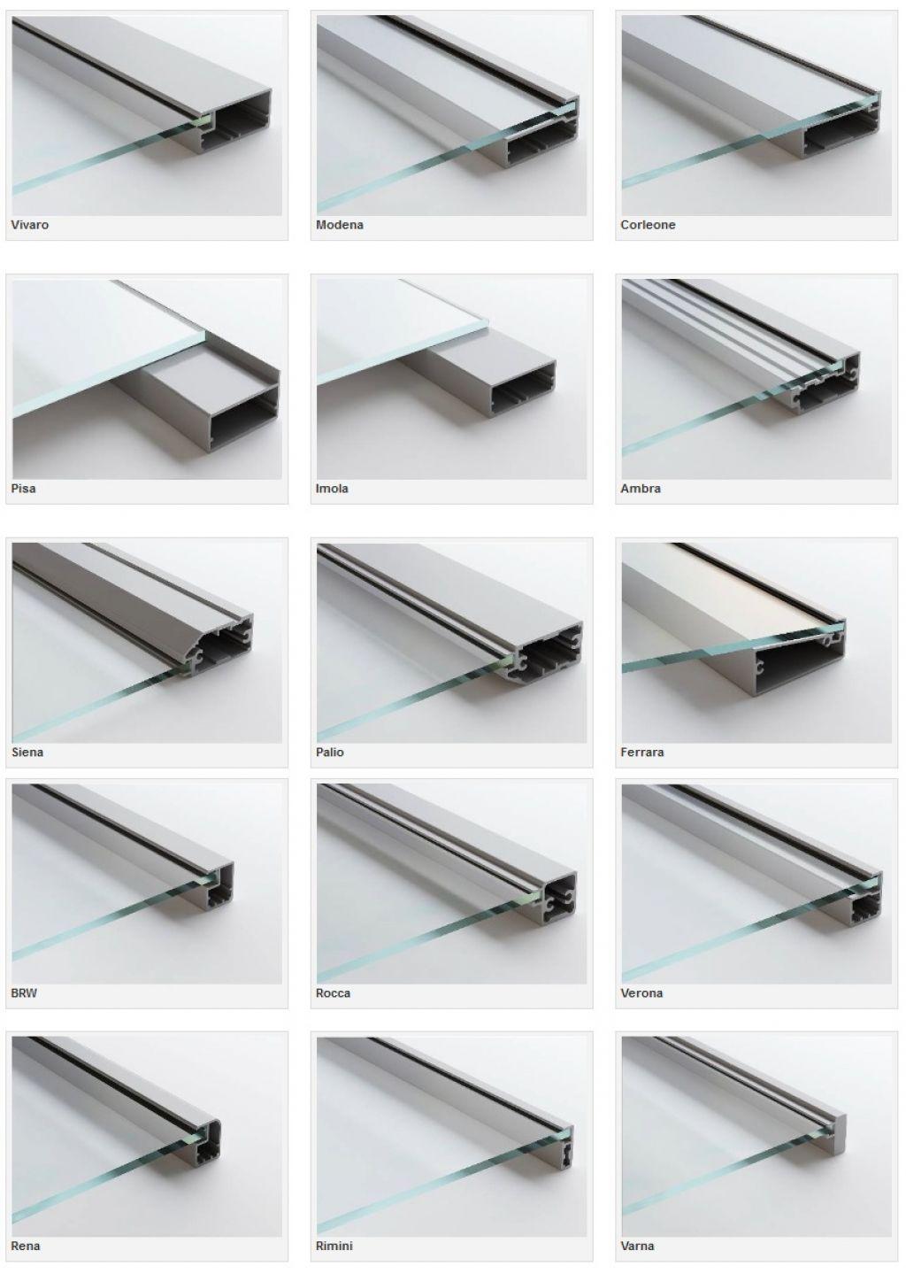15 Kinds Of Modern Kitchen Cabinet Glass Doors Frame Parts