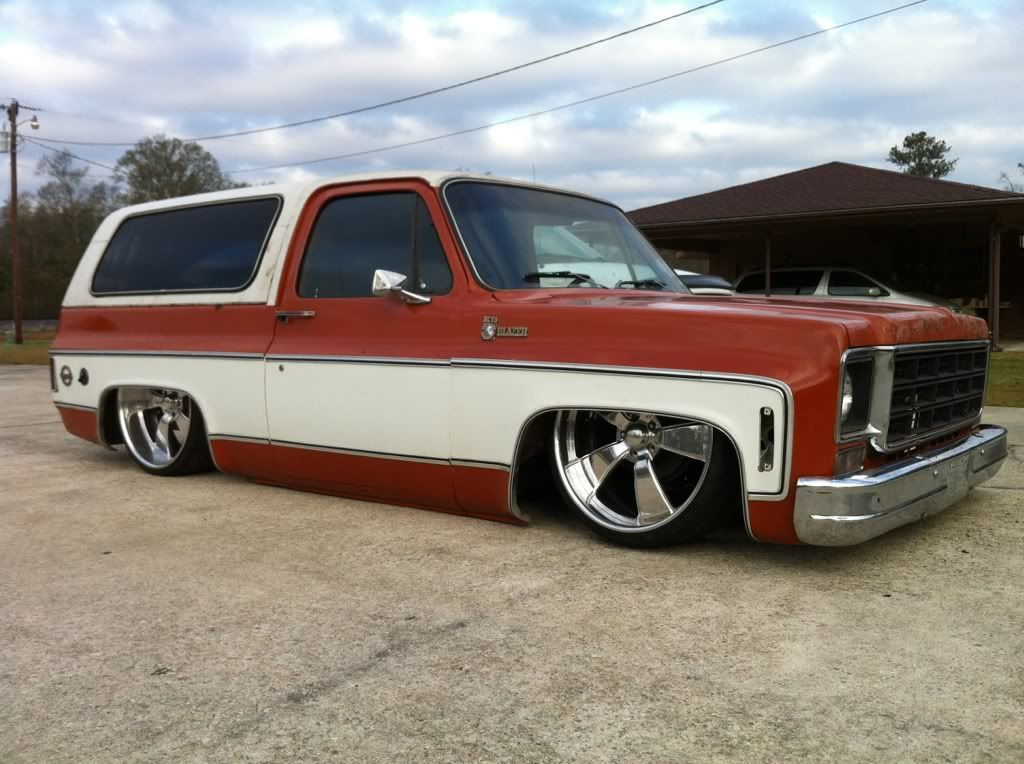 Pin By Les Gilliam On Blazers And Subs Custom Chevy Trucks Cool Trucks Chevy