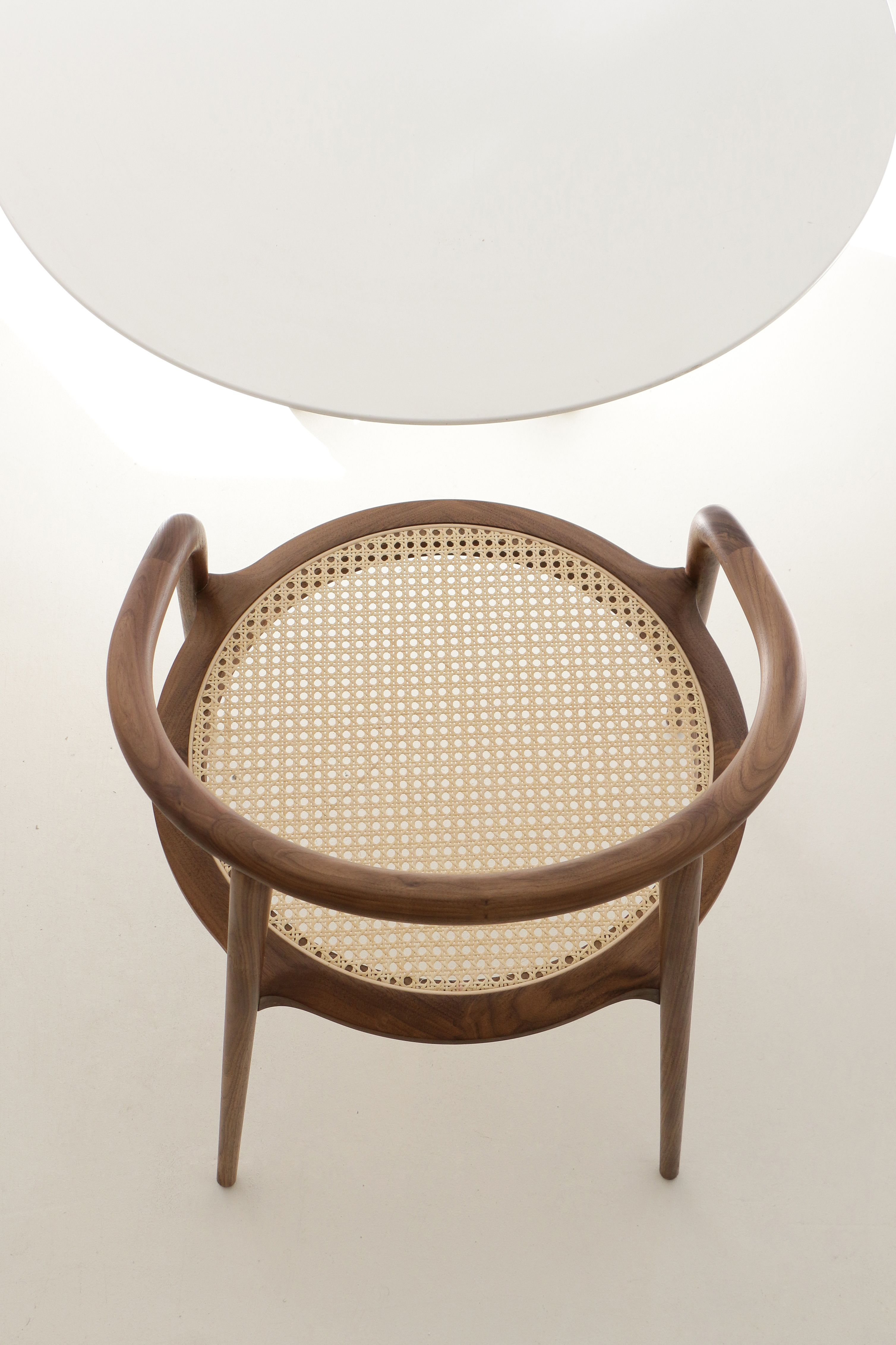 Aranha walnut chair by branca lisboa design marco sousa for Mobili design scontati