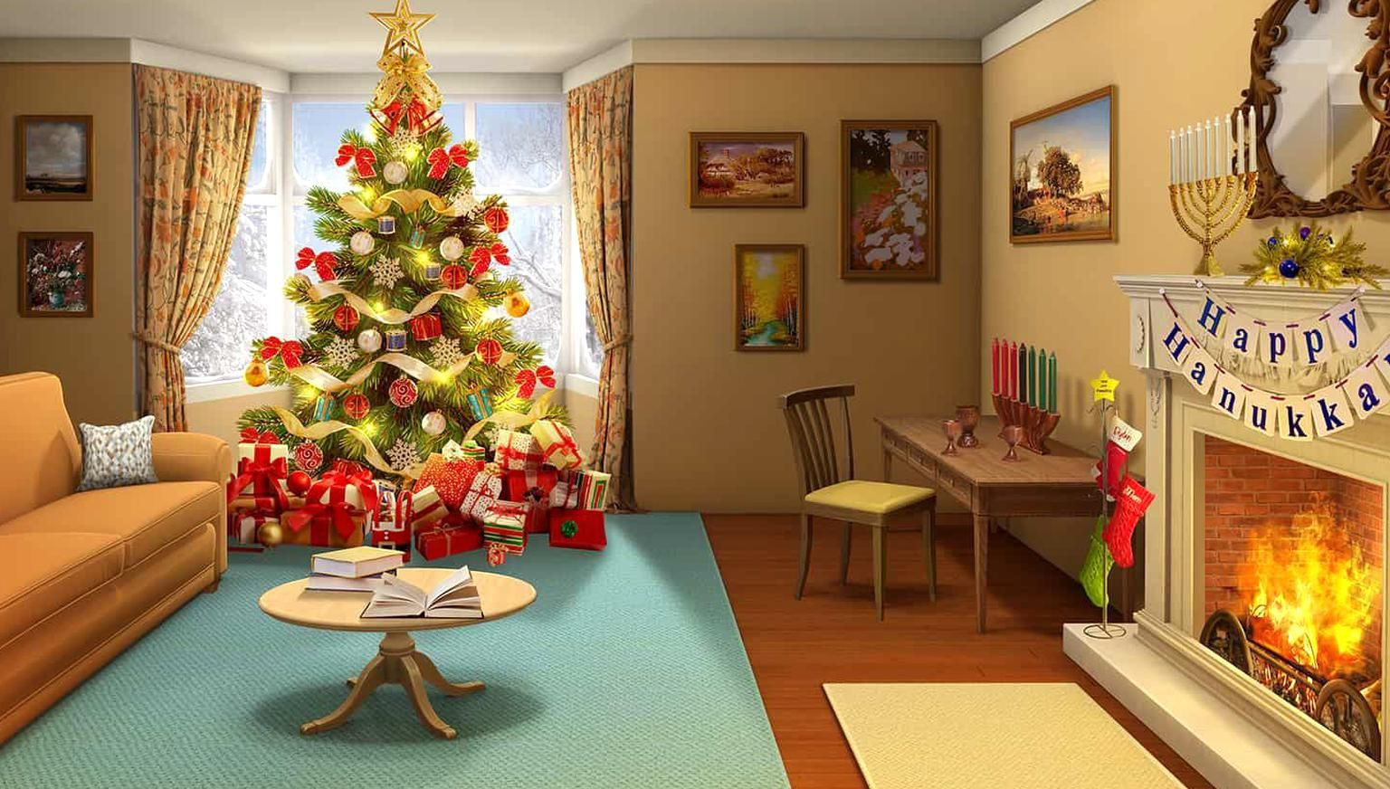 Pin By Alannah Mary On Quality Pins In 2020 Anime Christmas Christmas Wallpaper Backgrounds Christmas Theme Background