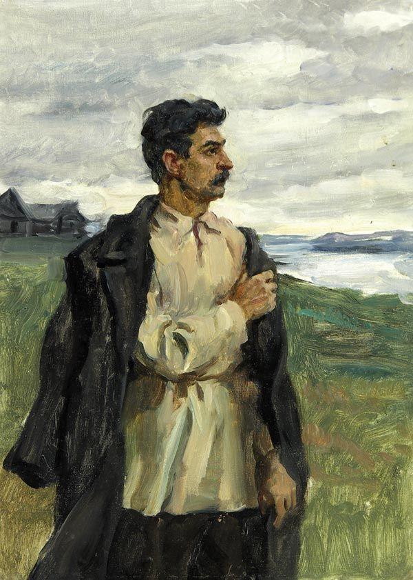 Stalin  by Ivanov #Stalin #exile #revolution