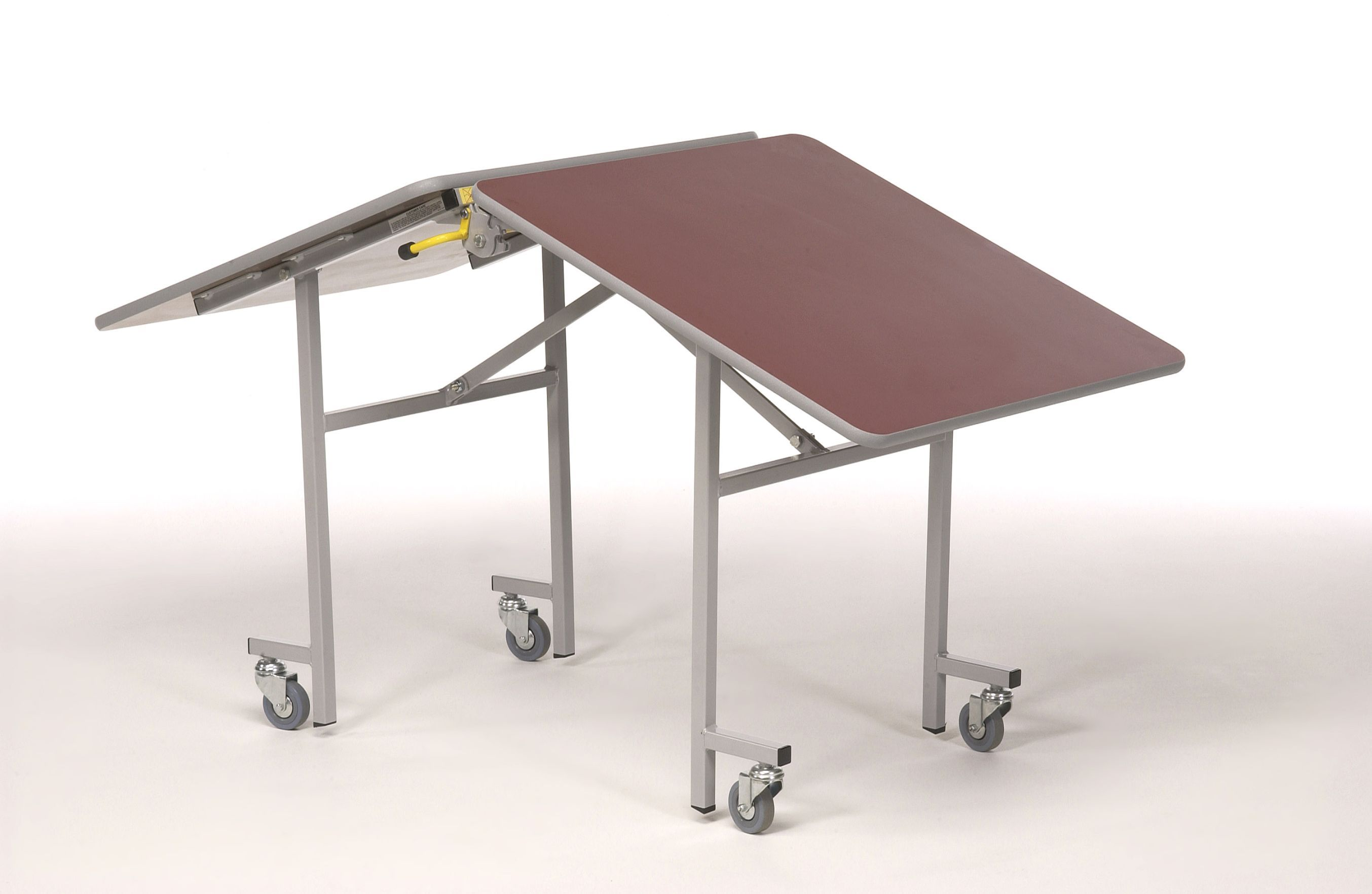Small Folding Table With Wheels 3 Folding Table Small Space