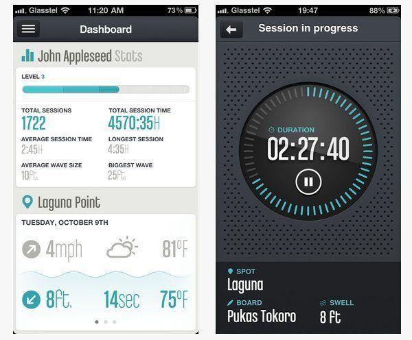 #GlassyPro, la #App fundamental para cualquier #Surfer