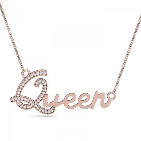 b95c224d3807c QUEEN Name Pendant | Queen-Related Stuff in 2019 | Pendants, Jewelry ...